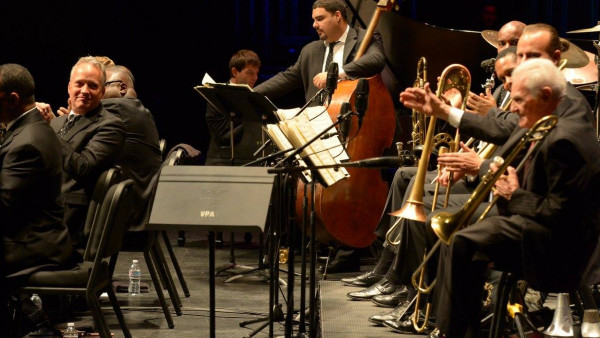 JLCO with Wynton Marsalis performing in Northridge, CA