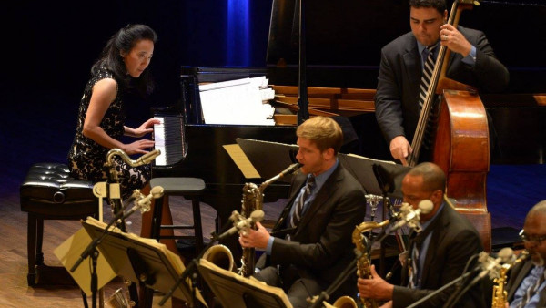 JLCO with Wynton Marsalis performing in Portland, OR