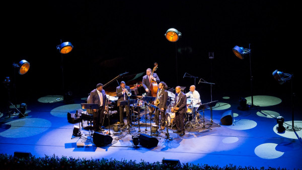 The Wynton Marsalis Septet performing in Abu Dhabi (2017)