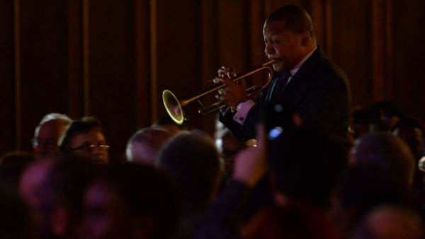 Wynton Marsalis Quintet performing in New Haven, CT