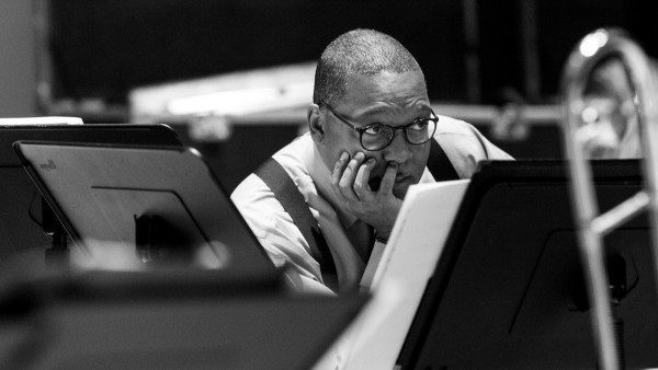 "JLCO with Wynton Marsalis in New York for ""Bernstein at 100"" (rehearsals)"