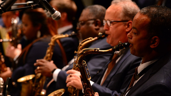 JLCO with Wynton Marsalis performing in Ann Arbor and Austin