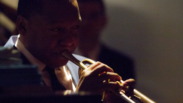 JLCO with Wynton Marsalis performing in Bordeaux, France