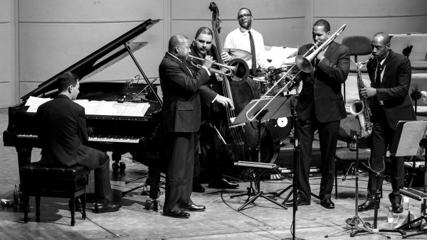 JLCO with Wynton Marsalis performing in Dortmund, Germany