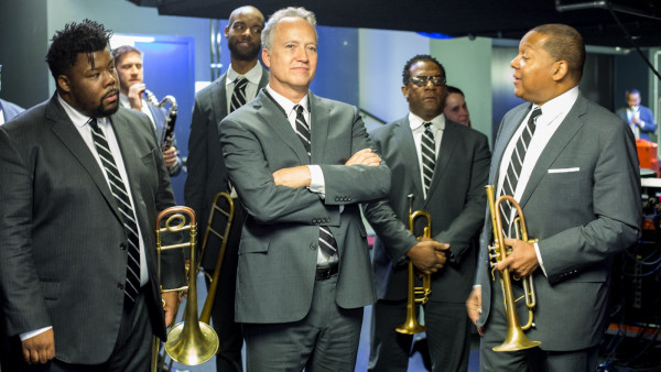 JLCO with Wynton Marsalis performing in Dresden, Germany
