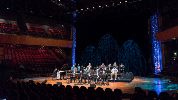 JLCO with Wynton Marsalis performing in Toulouse, France