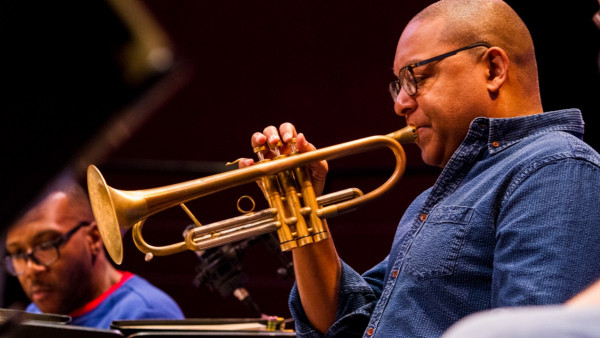 "JLCO with Wynton Marsalis performing ""Benny Goodman: King of Swing "" in Vienna"
