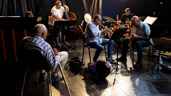 The Wynton Marsalis Quintet at Jazz in Marciac 2018 (rehearsal)