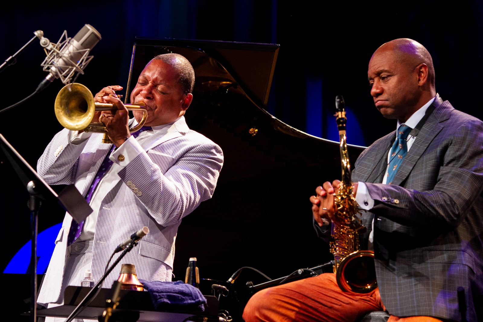 The Wynton Marsalis Quintet at Jazz in Marciac 2018 (sound
