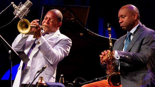 The Wynton Marsalis Quintet at Jazz in Marciac 2018 (sound check and concert)