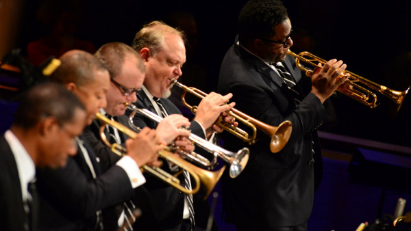 JLCO with Wynton Marsalis playing the music of MIles Davis in New York