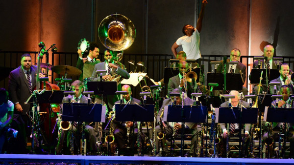 JLCO with Wynton Marsalis performing in Los Angeles
