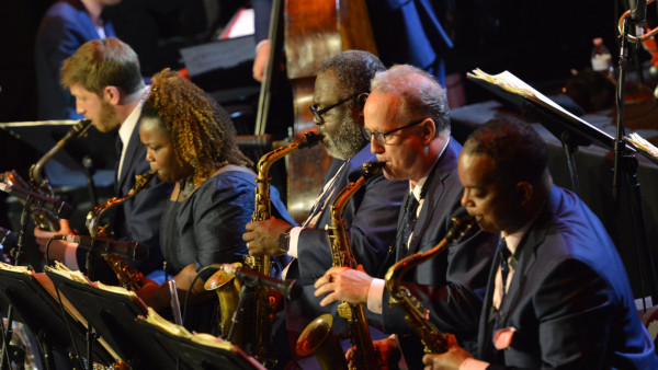 JLCO with Wynton Marsalis performing in Cozumel, Mexico