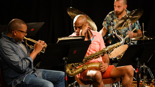 Wynton Marsalis Quintet in rehearsal at Jazz in Marciac 2019