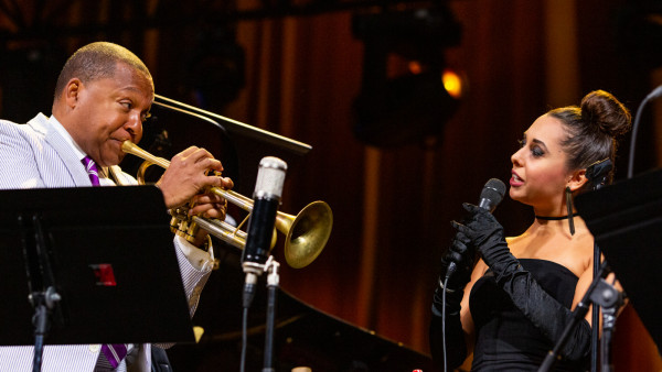 Wynton Marsalis Quintet performing at Jazz in Marciac 2019
