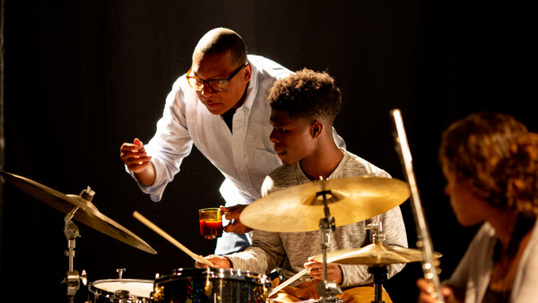 Wynton Marsalis & The Young Stars of Jazz in rehearsal at Jazz in Marciac 2019
