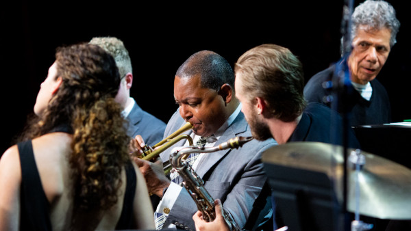 Wynton Marsalis & The Young Stars of Jazz performing at Jazz in Marciac 2019