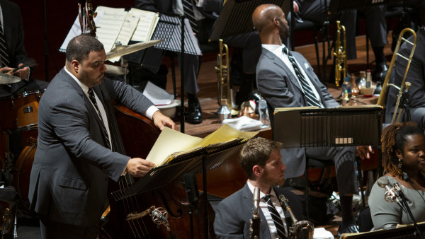 The JLCO with Wynton Marsalis performing at QPAC in Brisbane (day 1 & 2)