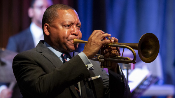 The JLCO with Wynton Marsalis performing at JALC Shanghai, China