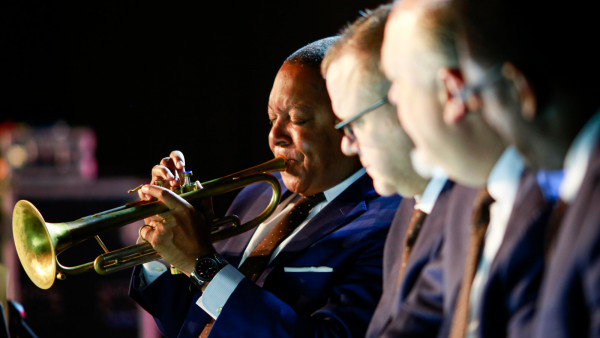 The JLCO with Wynton Marsalis performing with ZAR Orchestra in Johannesburg, South Africa