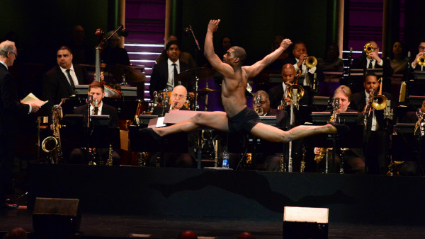 "The JLCO with Wynton Marsalis performing ""Transformation"" with Glenn Close and Ted Nash"