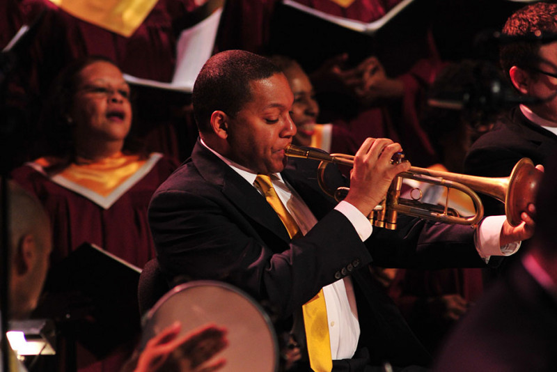 JLCO with Wynton Marsalis and the Abyssinian Baptist Church Choir