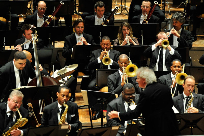 JLCO with Wynton Marsalis and the Berliner Philharmoniker