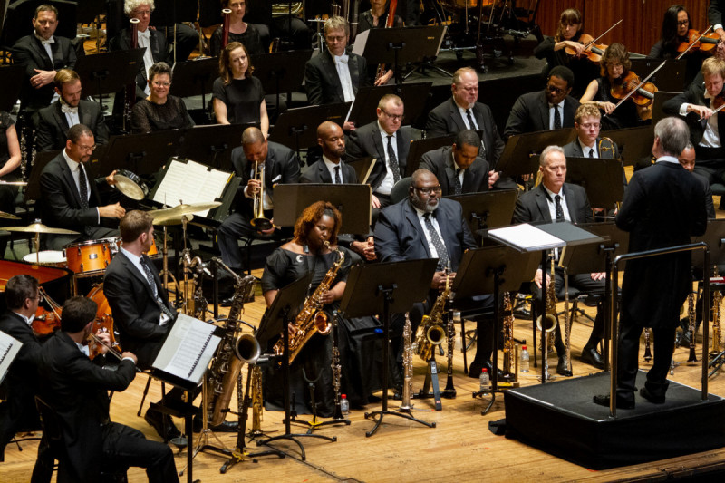 JLCO with Wynton Marsalis and Sydney Symphony Orchestra