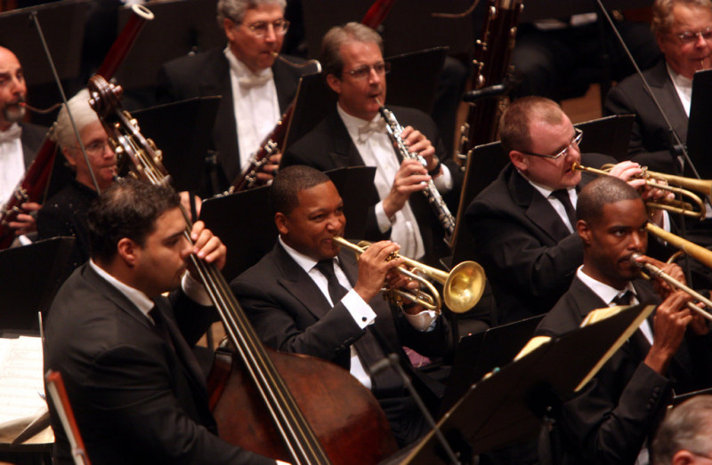 JLCO with Wynton Marsalis and the New York Philharmonic