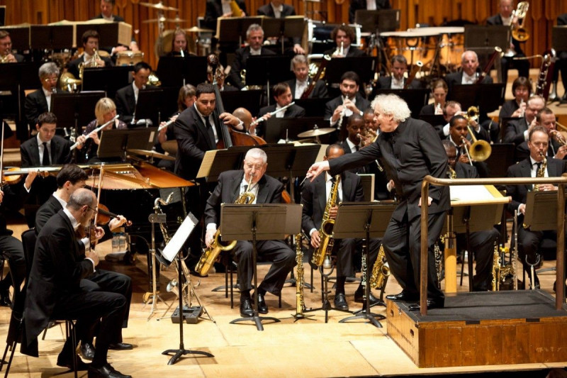 JLCO with Wynton Marsalis and London Symphony Orchestra