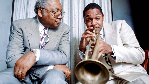 Wynton Marsalis with Ellis Marsalis