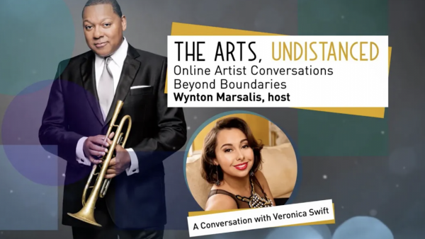 The Arts, Undistanced: Wynton Marsalis and Veronica Swift - Washington Performing Arts