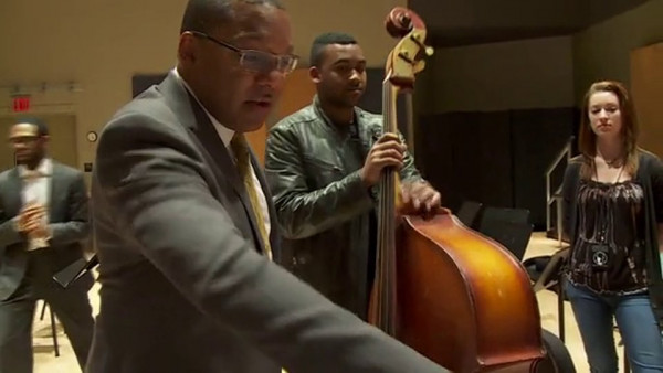 Wynton and Essentially Ellington 2014 - CBS Evening News