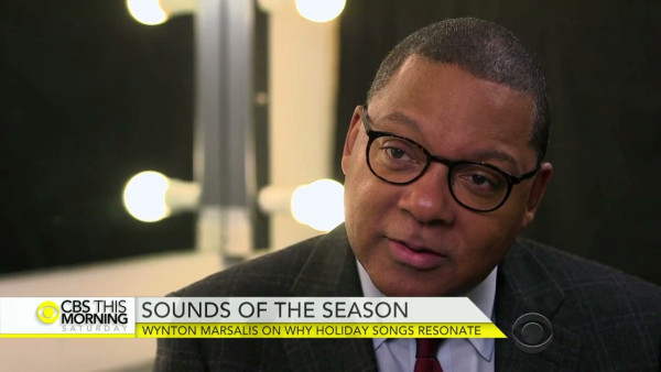 Wynton Marsalis on why holiday songs still resonate - CBS This Morning