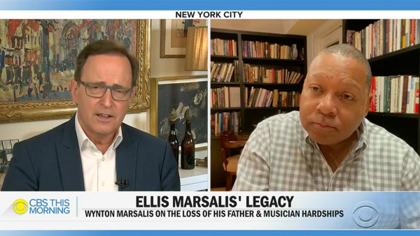 Wynton Marsalis on keeping his jazz legend father's legacy alive - CBS This Morning