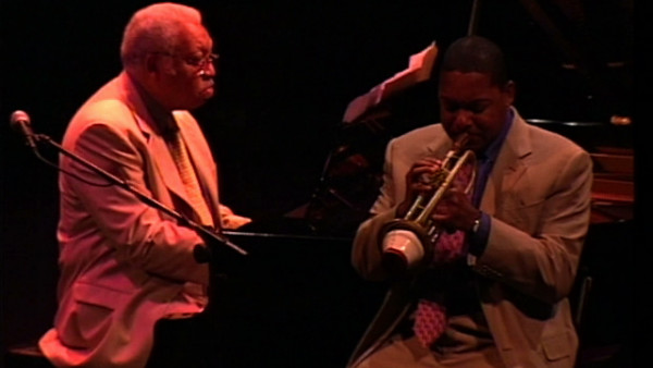 New Orleans - Wynton and Ellis Marsalis at Vitoria Jazz Festival 2001