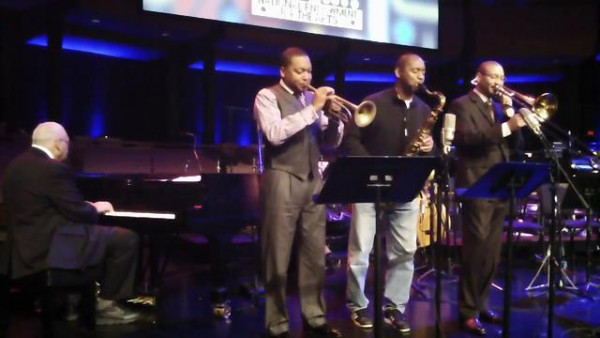 At The House, In Da Pocket - Marsalis Family in rehearsal for 2011 NEA Jazz Masters
