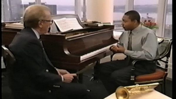 Wynton Talking with David Frost