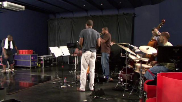 The Drums (rehearsal) - Wynton Marsalis Quintet at Jazz in Marciac 2007
