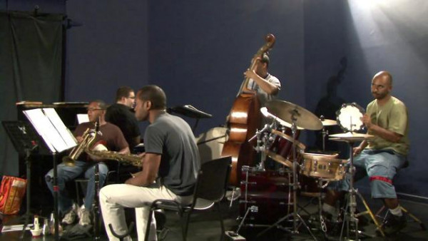 Broke Like Bone (Part I, rehearsal) - Wynton Marsalis Quintet at Jazz in Marciac 2007