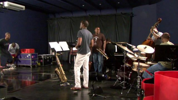 A Glory Train (rehearsal) - Wynton Marsalis Quintet at Jazz in Marciac 2007