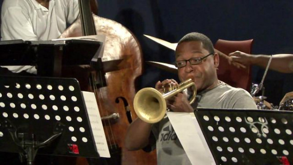 Marciac Fun (rehearsal) - Wynton Marsalis Septet at Jazz in Marciac 2007