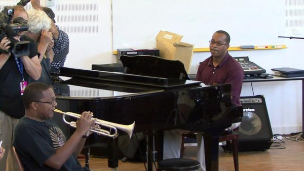 Improvising on Embraceable You - Masterclass in Marciac 2007 (Part VIII)