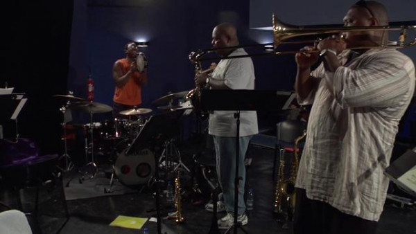 Happy Birthday Marcus Roberts - Wynton Marsalis Septet at Jazz in Marciac 2008