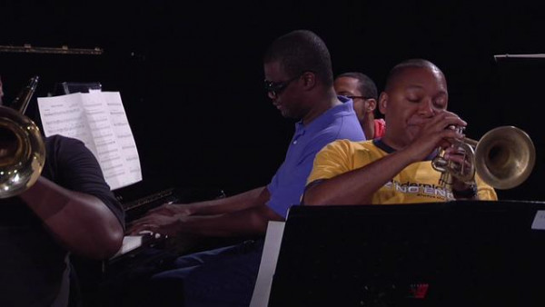 Reflections (rehearsal) - Wynton Marsalis Septet at Jazz in Marciac 2008