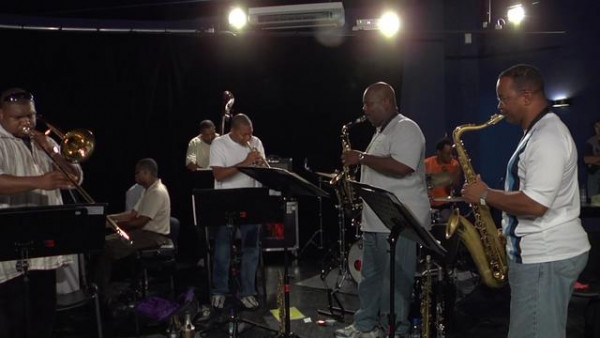Sunflowers (rehearsal) - Wynton Marsalis Septet at Jazz in Marciac 2008