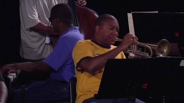 The Majesty of The Blues (rehearsal) - Wynton Marsalis Septet at Jazz in Marciac 2008