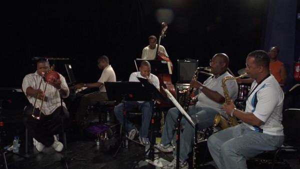 The Majesty of The Blues (take 2, rehearsal) - Wynton Marsalis Septet at Jazz in Marciac 2008