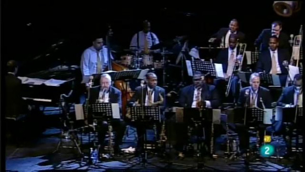 JLCO with Wynton Marsalis performing at San Javier Jazz Festival 2011