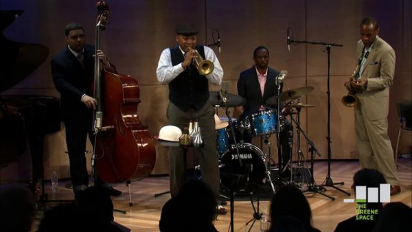 Free to Be - Wynton Marsalis Quintet live at The Greene Space, NYC